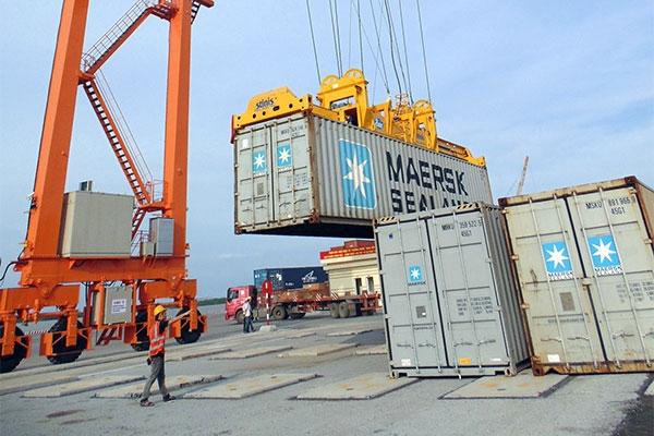 cảng giao hàng