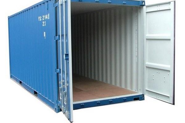 kiểm tra container trước khi đóng hàng