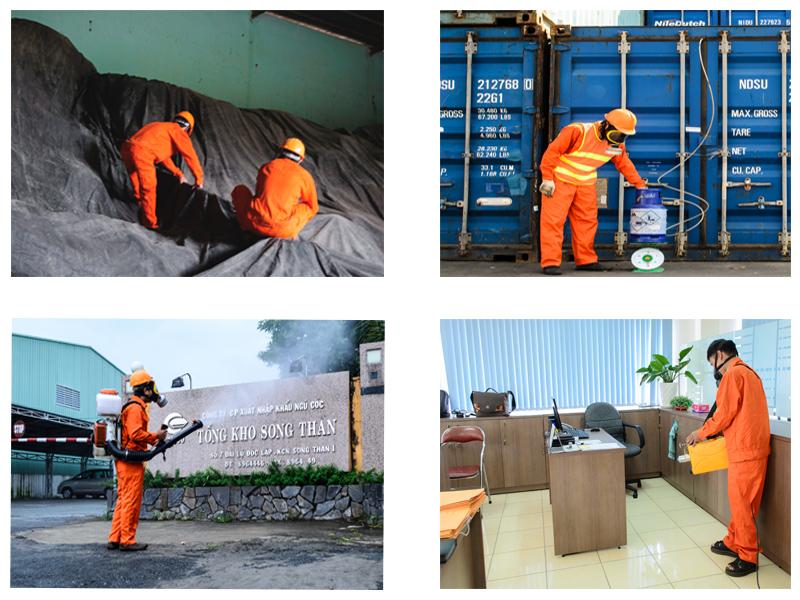 khử trùng hàng hóa xuất nhập khẩu