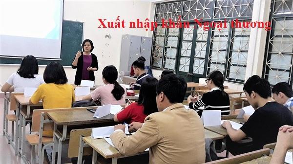 học xuất nhập khẩu đại học ngoại thương