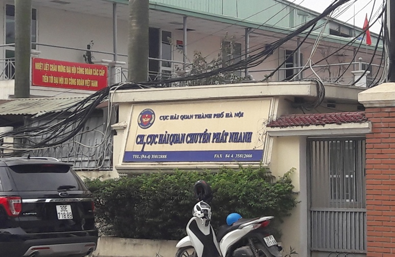 Danh sách chi cục hải quan tại Hà Nội và các tỉnh lân cận