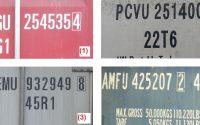 Các ký hiệu trên container mà bạn cần biết
