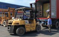 Cách rút ruột hàng container tại cảng Cát Lái