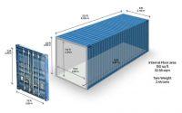 Tính thể tích hàng khi đóng hàng vào container