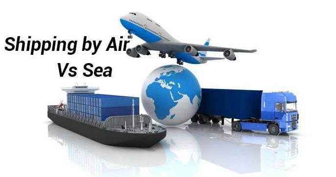 Khác biệt trong vận tải đường biển và đường hàng không