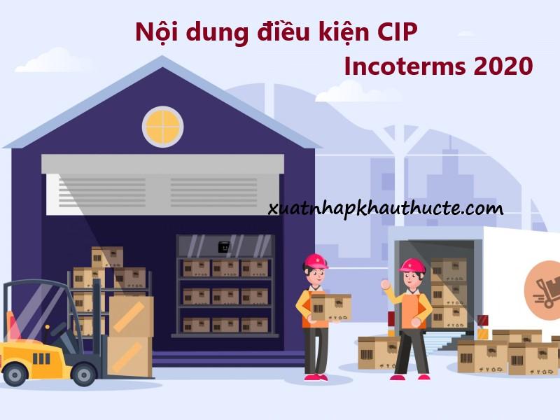Nội dung điều kiện CPT incoterms 2020